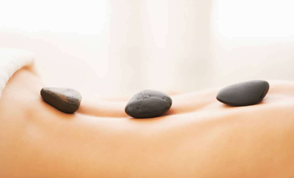 Hot stone massage is the most relaxing escape you can give yourself.