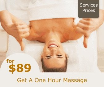 $89 for an hour massage