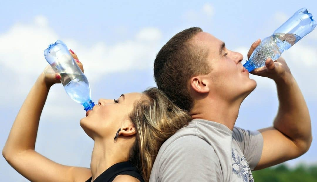 Drink more water to relieve muscle tightness