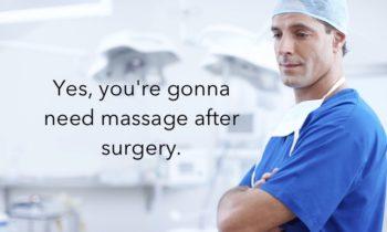 massage post surgery